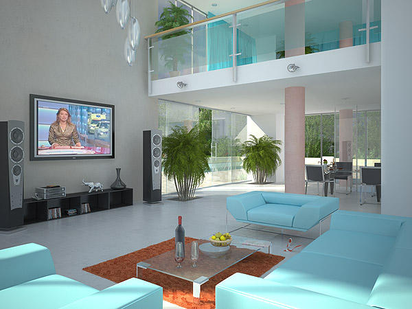 Interieur 3d for Interieur 3d